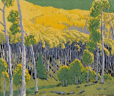 Gustave Baumann, 'Mountain Gold.', 1926