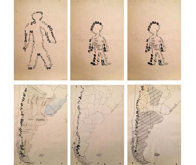 Fernando Coco Bedoya, 'Transgrafías', 1984