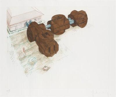 Claes Oldenburg, 'Alternative Proposal For The Allen Memorial Art Museum, Oberlin, Ohio (Axsom/Platzker 169)', 1979