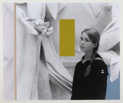 George Woodman, 'Alexandra in Met Receiving Flowers (and Colors)', 2012