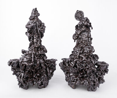 Anthony Sonnenberg, 'Pair of Candelabras (Porphyry)', 2020