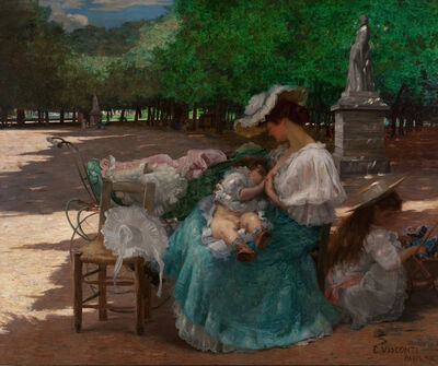 Eliseu Visconti, 'Maternity', 1906