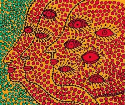 Yayoi Kusama, 'Seeking the Soul', 2012