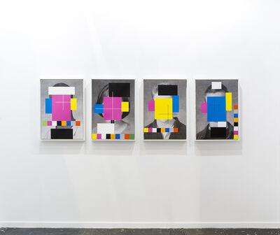 Douglas Coupland, 'CMYK Heads', 2015