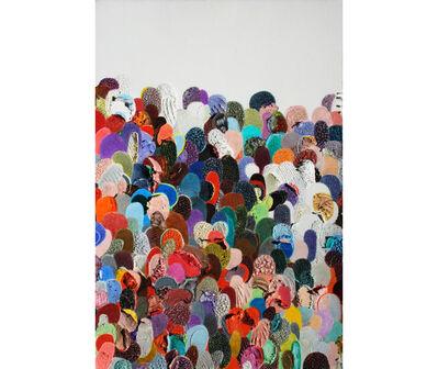 Eduardo Santiere, 'Multitudes 7', 2017