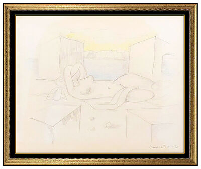 Mario Carreño, 'Nude in Repose', 1972