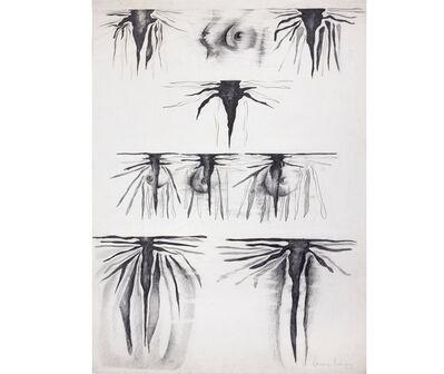 Susana Rodríguez, 'Escritura y cuerpo', 1978
