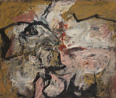 Nicolas Carone, 'Separate Ways & Constant Meeting', 1956