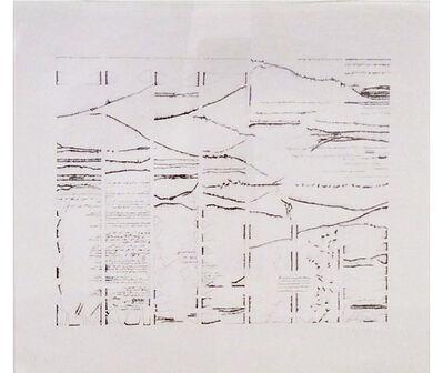 Mirtha Dermisache, 'Texto mural 2', 2007