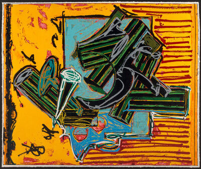 Frank Stella, 'The Peacock Feather', 1988