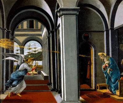 Sandro Botticelli, 'The Annunciation ', ca. 1490