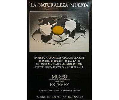 Norberto Puzzolo, 'La Naturaleza Muerta. Barroso, Cabanillas, Cecconi, Ciccione, Depetris, Echagüe, Ercila, Gatti, Greiner, Machado, Madrid, Perassi, Petitt, Porta, Puzzolo, Raffo, Suardi', 1987