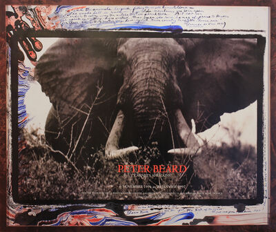 Peter Beard, 'Carnets Africains Exhibition Announcement', 1997