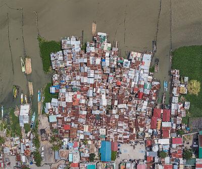 Bernhard Lang, 'Aerial Views, Manila 01', 2017