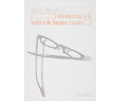 Gonzalo Elvira, 'Introducción a la lectura de Jacques Lacan', 2017