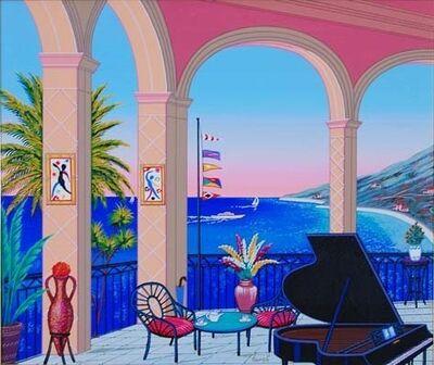 Fanch Ledan, 'Terrasse au Piano'