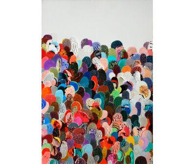 Eduardo Santiere, 'Multitudes 6', 2017