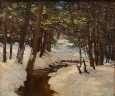 Walter Nettleton, 'A Woodland Brook', ca. 1910
