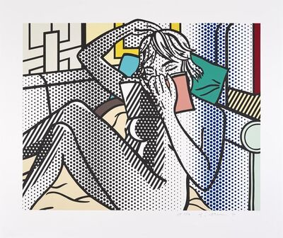 Roy Lichtenstein, 'Nude Reading', 1994