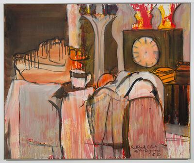 Grace Hartigan, 'Black Clock (After Cezanne)', 1992