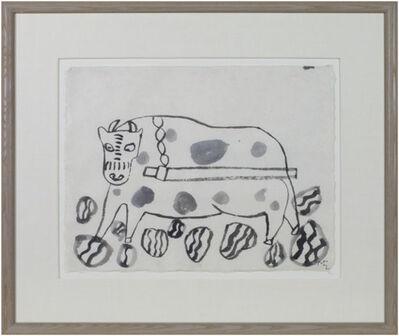 Miguel Castro Leñero, 'Untitled (Ox?)', 1991