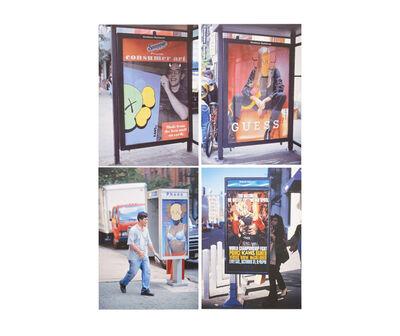 KAWS, 'KAWS x NGV Postcard (Set of 4) (Bus Shelters)', 2019