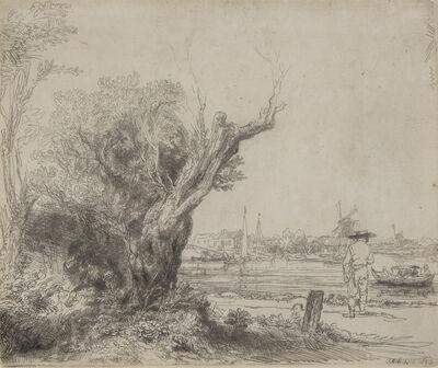 Rembrandt van Rijn, 'The Omval', 1645