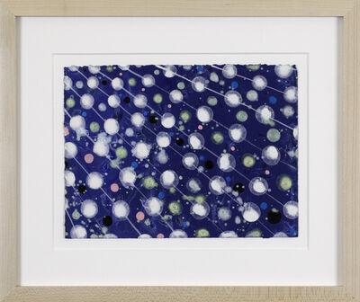 Barbara Takenaga, 'Untitled (white lines and circles)', 2019
