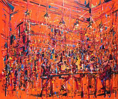 "Jazzamoart, '""La Francachela""', 2018"