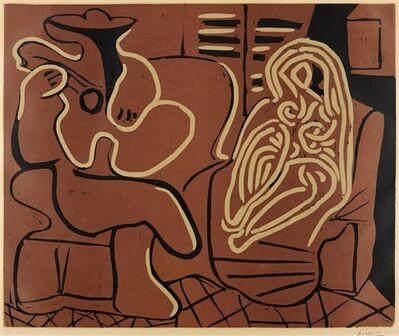Pablo Picasso, 'Femme dans un Fauteuil et Guitariste', 1959