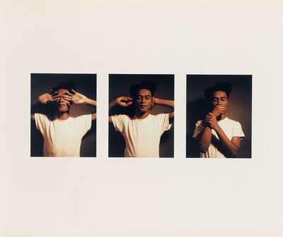 Carrie Mae Weems, 'Untitled (See No Evil, Hear No Evil, Speak No Evil)', 1995