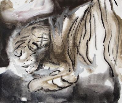Martina Steckholzer, 'Crouching Tiger', 2021