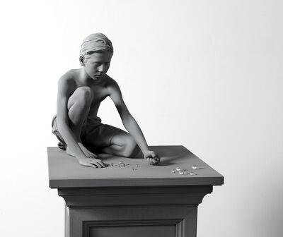 Hans Op de Beeck, 'Timo (marbles) (small version)', 2019