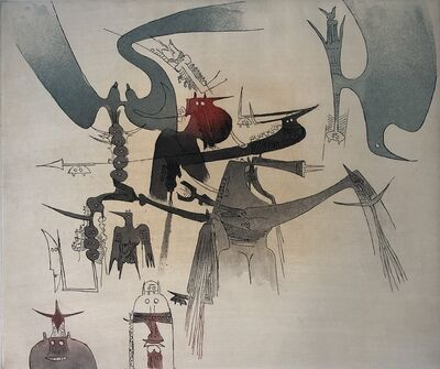Wifredo Lam, 'Lames de Lam 6', 1977