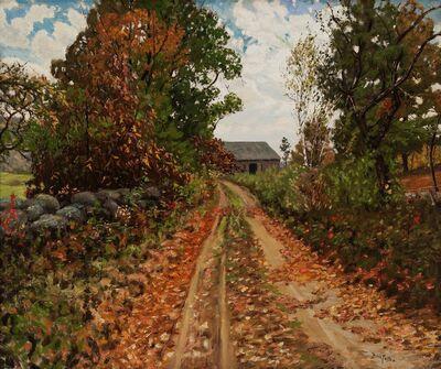 Ben Foster, 'Autumn Road', ca. 1915
