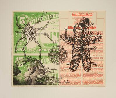 David Wojnarowicz, 'UNTITLED (VOODOO DOLL AND SPIDER), 1990', 1990