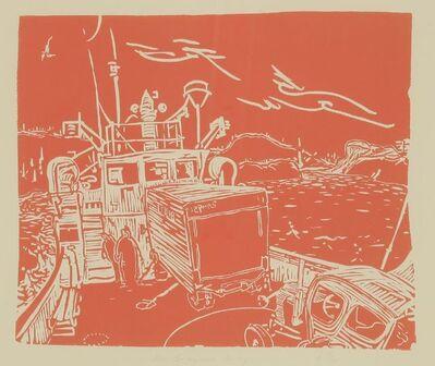 Barry Flanagan, 'Mcbrayne's Ferry', 1977/1983