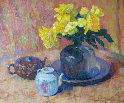 Margaret Jordan Patterson, 'Yellow Roses', Early 20th century