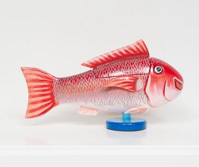 Paa Joe, 'Red Fish ', 2019