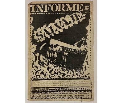 Juan Carlos Romero, 'Informe salvaje', 1985