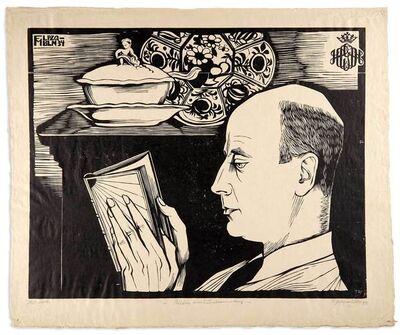 Conrad Felixmuller, 'BILDNIS - HANS CONON VON DER GABELENTZ', 1934