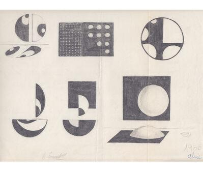 Noemi Escandell, 'Boceto para Relieves', 1966