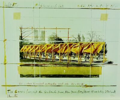 Christo, 'The Gates', 1994