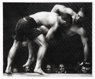 Robert Longo, 'Study of UFC', 2018
