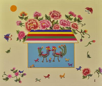 Sook Jung Kim, 'Love is a flowering house, 오랜여행-사랑이꽃피는집', 2016