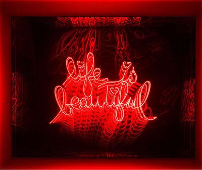 Falcone, 'Neon - Life Is Beautiful ', GFA992