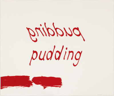 Bruce Nauman, 'Proof of Pudding ', 1975