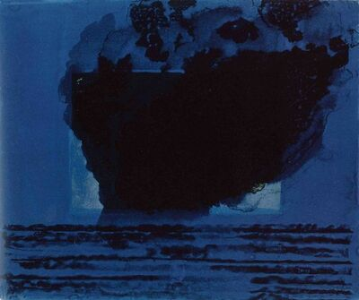 Howard Hodgkin, 'A Storm', 1977