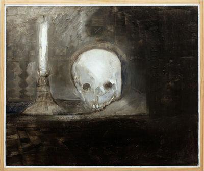 Jake Berthot, 'Skull With Candle', 2010