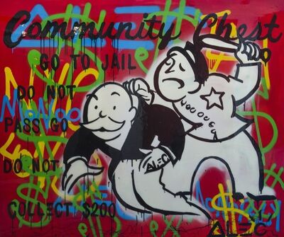 Alec Monopoly, 'Community Chest', 2014